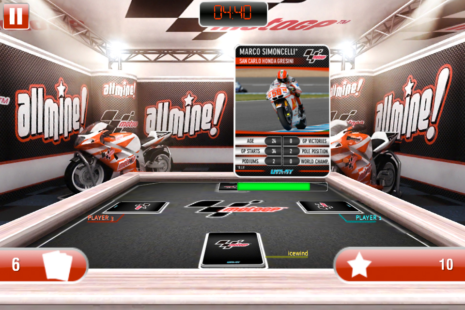 Screenshot AllMine MotoGP