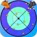 Cats dart game for kids
